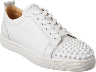 3543c0ea768 Christian Louboutin Louis Junior Spikes Leather Sneaker
