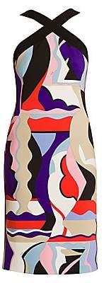 Emilio Pucci Women's Vallauris Halterneck Sheath Dress