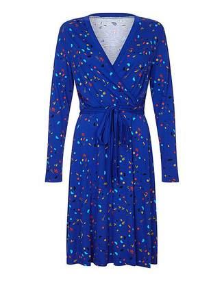 Yumi Curves Jersey Wrap Dress