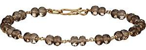 Dean Harris Men's Beaded Bracelet-Lt. brown