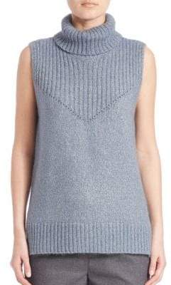 Peserico Turtleneck Virgin Wool-Blend Sweater
