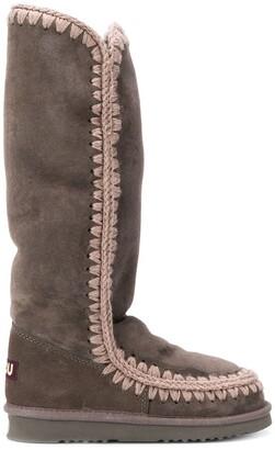Mou eskimo high-knee boots