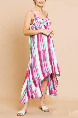 Umgee USA Ruffle Maxi Dress