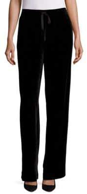 Saks Fifth Avenue COLLECTION Velvet Drawstring Pant