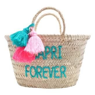 Rose in April Embroidered Capri forever Basket