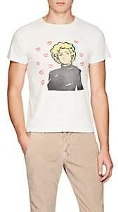 Remi Relief Men's Graphic Cotton T-Shirt - White