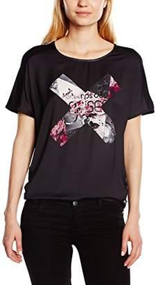 Le Temps Des Cerises Women's Printed Short Sleeve T-Shirt - Black