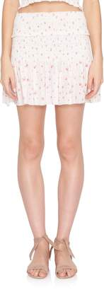 LoveShackFancy Camila Mini Skirt