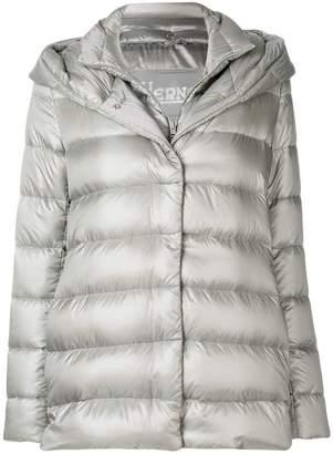 Herno layered puffer jacket