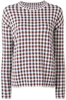 Christian Wijnants checkered jumper