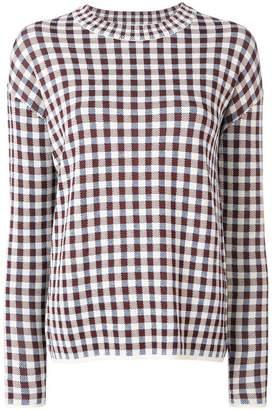 Christian Wijnants checkered jumper