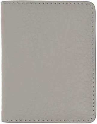 Maison Margiela Grey Bifold Card Holder
