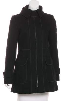 Theory Virgin Wool Short Coat