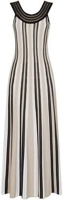 D-Exterior D.Exterior Stripe Maxi Dress
