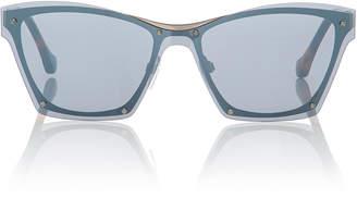 Balenciaga Sunglasses Raw-Frame Sunglasses