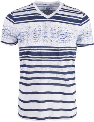 American Rag Men's Striped V-Neck T-Shirt