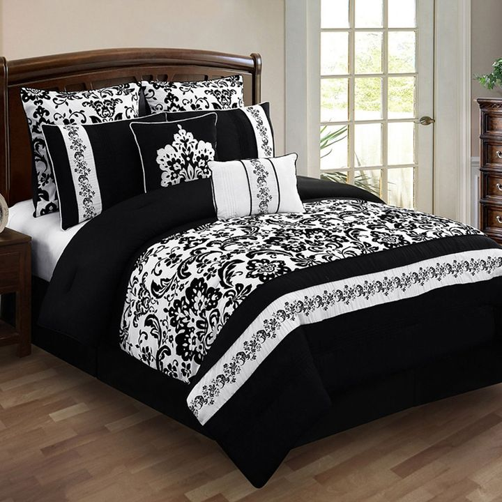 Bed Bath & Beyond Alisia 8-Piece King Comforter Set