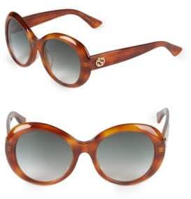 Gucci 54MM Round Sunglasses