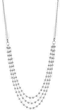 Platinum Born Platinum Saturn Necklace