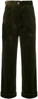 Aspesi wide-leg corduroy trousers