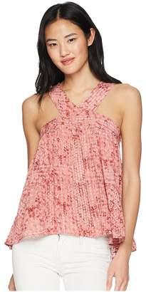 BB Dakota Lyla Beach Batik Printed Top Women's Clothing