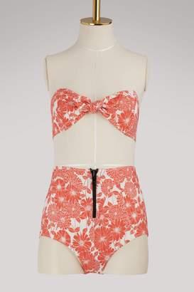 Lisa Marie Fernandez Poppy high waist bikini