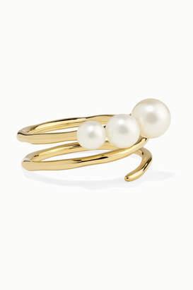 Ippolita Nova 18-karat Gold Pearl Ring