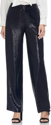 Vince Camuto Allover Sequin Wide Leg Pants