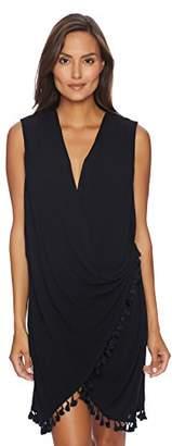 Athena Women's Bazaar Beauty Wrap Swimsuit Cover up Dress