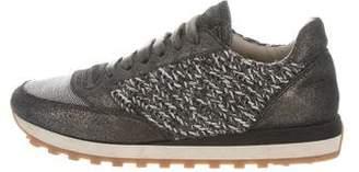 Brunello Cucinelli Metallic Monili Sneakers