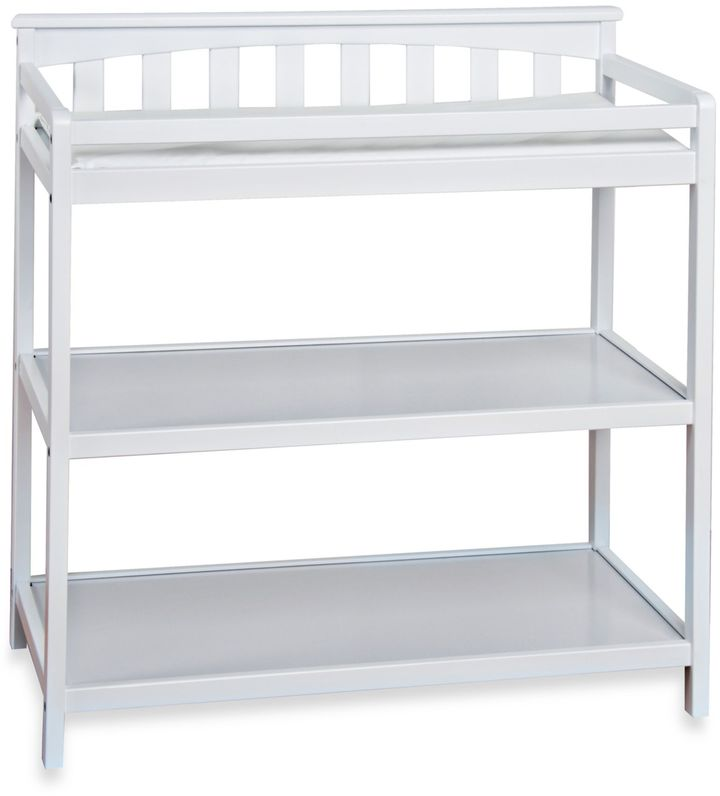 Child CraftChild CraftTM London Euro Flat Top Changing Table in Matte White
