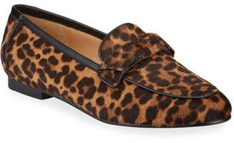 Alexandre Birman Becky Cheetah-Print Fur Loafers
