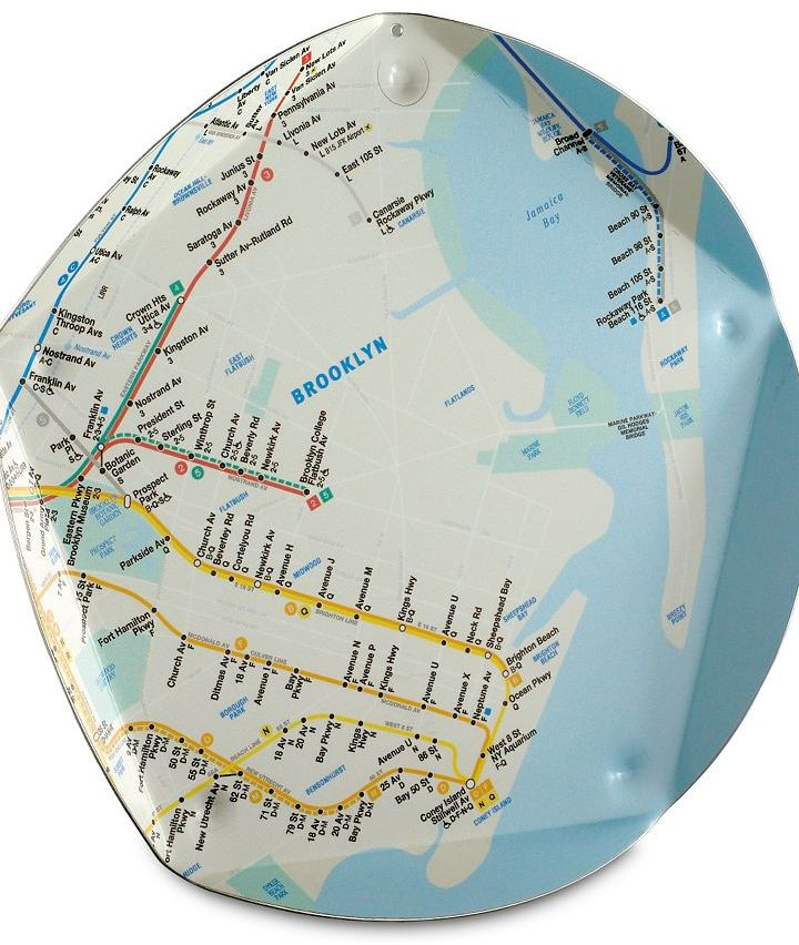 NYC Pentatray with Map