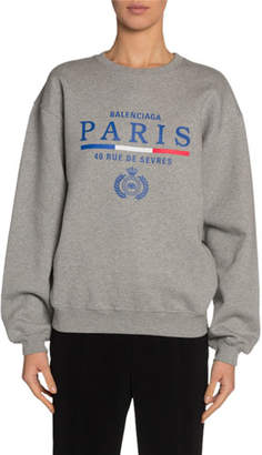 Balenciaga French Flag Sweatshirt