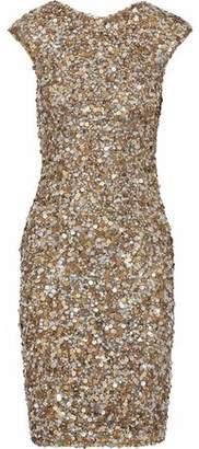 Rachel Gilbert Serephina Sequined Tulle Dress