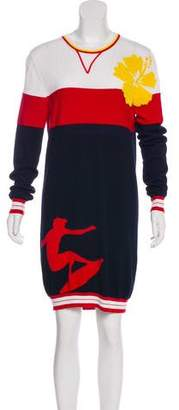 Tommy Hilfiger Intarsia Colorblock Dress