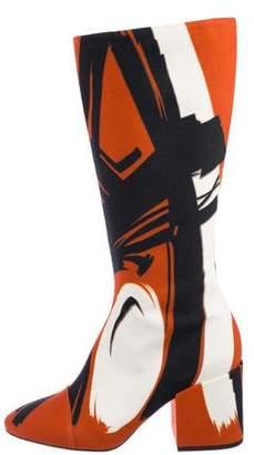 Dries Van Noten Runway Knee-High Boots w/ Tags