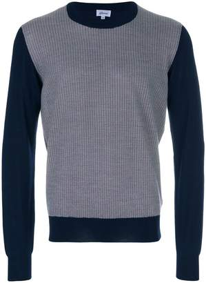 Brioni contrast sleeve sweater