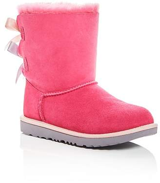 UGG Girls' Bailey Bow II Shearling Boots - Little Kid, Big Kid