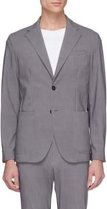 Traiano 'Dante' notched lapel soft blazer