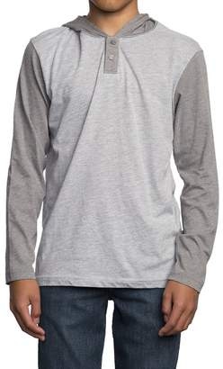 RVCA Pick Up Hooded Long-Sleeve Shirt - Boys'