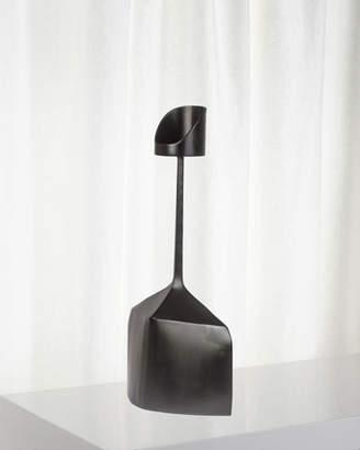 Patrick Coard Paris Pedestal Metal Large Candle Holder