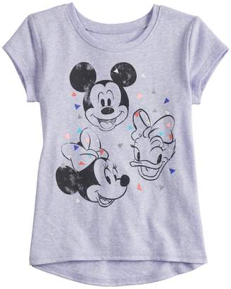 Disneyjumping Beans Disney's Mickey Mouse, Minnie Mouse & Daisy Duck Toddler Girl Short-Sleeve Graphic Tee by Jumping Beans