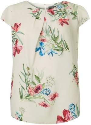 Dorothy Perkins Womens **Billie & Blossom Curve Floral Print Top