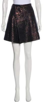 3.1 Phillip Lim Mini Metallic Skirt