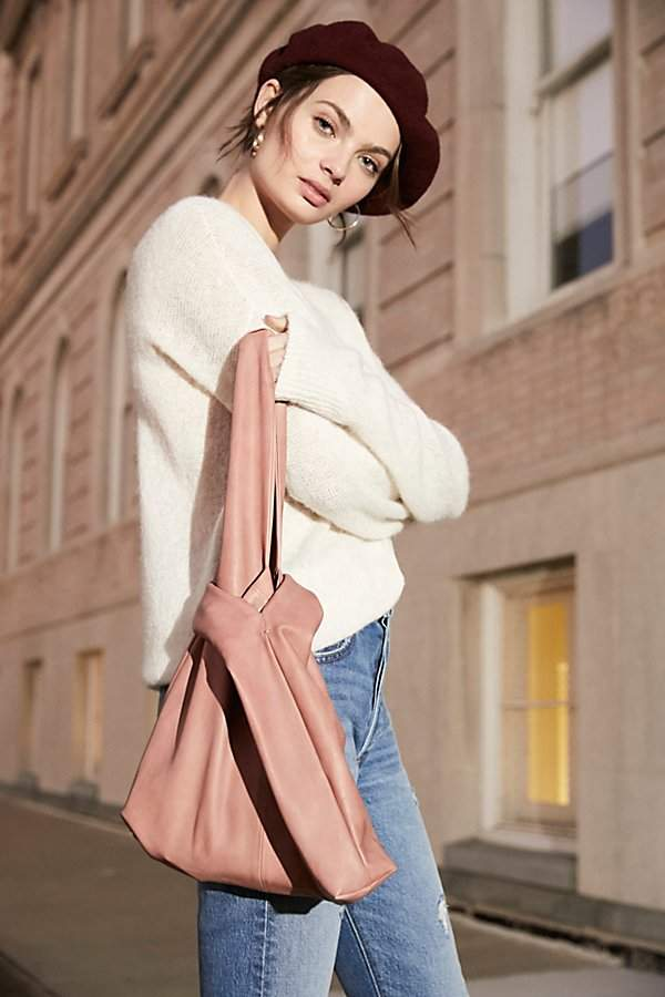 Leather Grab Pouch by Free People