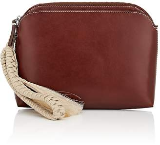 The Row Women's Multi-Pouch Leather Wristlet