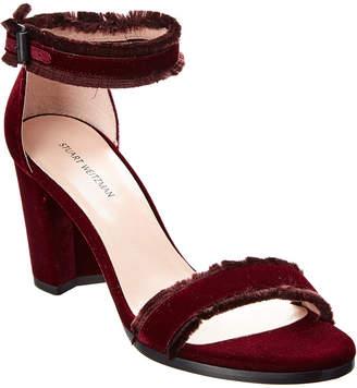 Stuart Weitzman Velvet Sandal
