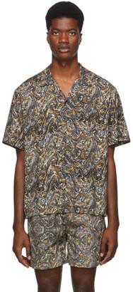 Everest Isles Grey Oil Spill Beach Shirt