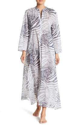 Natori Long Sleeve Print Nightgown